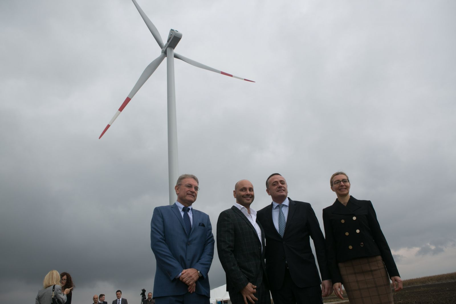 FIRST WIND PARK IN SOUTH BANAT TO BE OFFICIALLY PUT INTO OPERATION