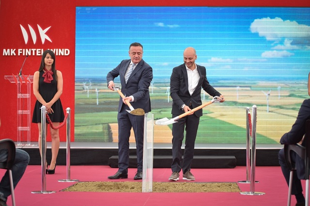 MK Fintel Wind began with construction of the third wind farm in Serbia  and will invest 124 million euros in the first phase