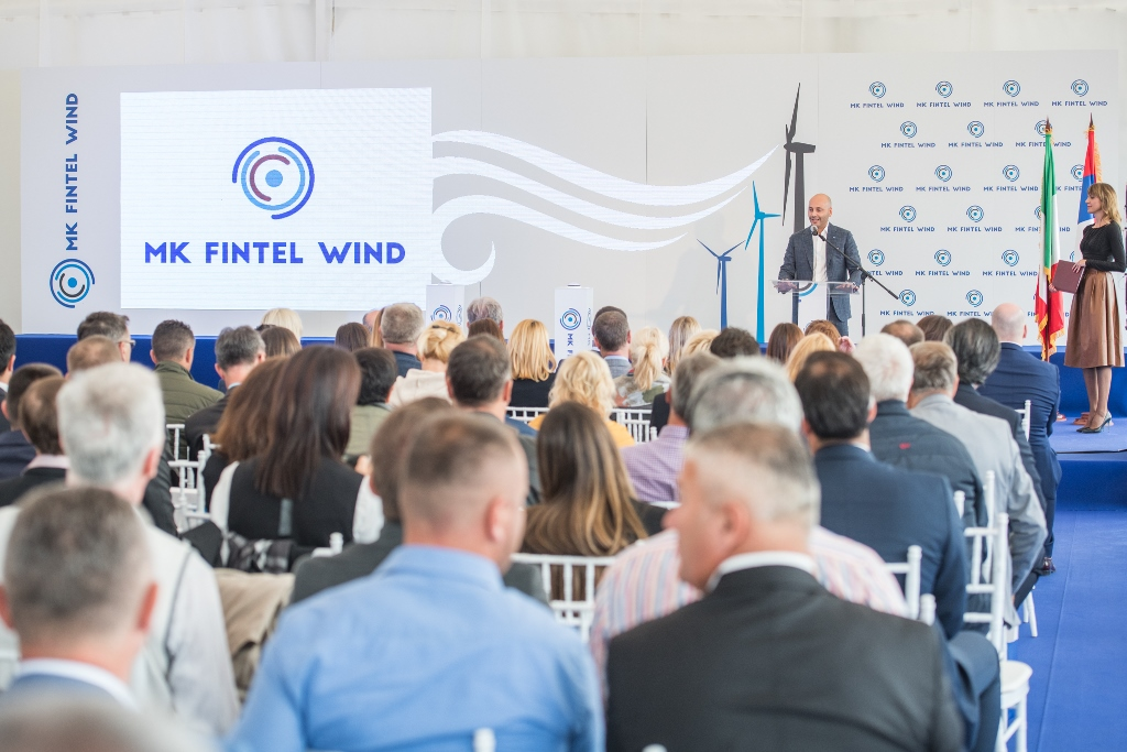 "MK Fintel Wind's third wind farm ""Košava"" commissioned"