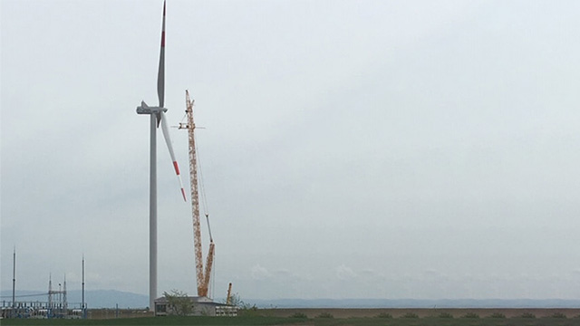 First phase of the construction of Košava wind farm acquired the privileged electricity producer status